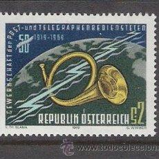Sellos: AUSTRIA 1969 - 50 ANIVERSARIO SINDICATO DE CORREOS Y TELEGRAFOS - YVERT 1138 ***. Lote 31023302