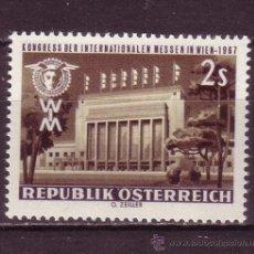 Sellos: AUSTRIA 1081*** - AÑO 1967 - 34º CONGRESO EN VIENA DE LA UNIÓN DE FERIAS INTERNACIONALES. Lote 31885729