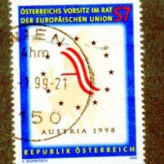 Sellos: AUSTRIA.- SELLO DEL AÑO 1998, EN USADO (AUST-11). Lote 32610360