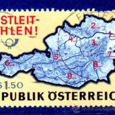 Sellos: AUSTRIA.- SELLO DEL AÑO 1966, EN USADO (AUST-12). Lote 32610395