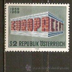 Sellos: AUSTRIA YVERT NUM. 1121 ** EUROPA SERIE COMPLETA NUEVA SIN FIJASELLOS. Lote 119082194