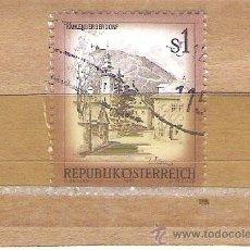 Sellos: SELLOS - LOTE 1 SELLO USADO - AUSTRIA ( PAISAJES O CIUDADES AUSTRIACAS ). Lote 35679032