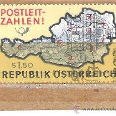 Sellos: SELLOS - LOTE 1 SELLO USADO - AUSTRIA ( MAPA AUSTRIACO ) . Lote 35717931