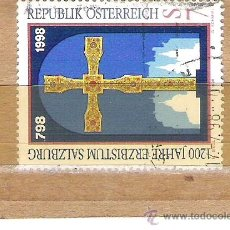 Sellos: SELLOS - LOTE 1 SELLO USADO - AUSTRIA ( CRUZ CATEDRAL AUSTRIACA ) . Lote 35717976