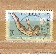 Sellos: SELLOS - LOTE 1 SELLO USADO - AUSTRIA ( DEPORTES ) . Lote 35717997