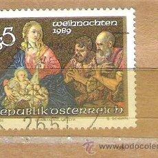 Sellos: SELLOS - LOTE 1 SELLO USADO - AUSTRIA ( NAVIDAD - NACIMIENTO ) . Lote 35718413