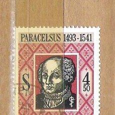 Sellos: SELLOS - LOTE 1 SELLO USADO - AUSTRIA ( PERSONAJES AUSTRIACOS ) . Lote 35720225