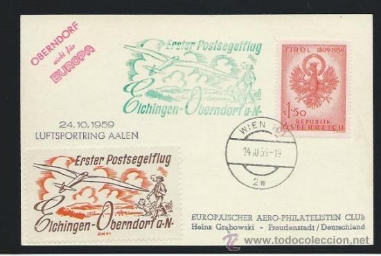 1959. AUSTRIA A ALEMANIA (Sellos - Extranjero - Europa - Austria)