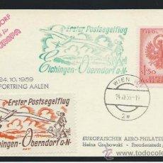 Sellos: 1959. AUSTRIA A ALEMANIA. Lote 36146396