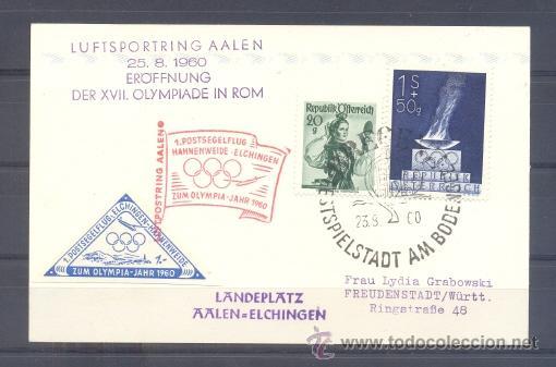 1960.-AUSTRIA A ALEMANIA (Sellos - Extranjero - Europa - Austria)