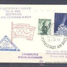 Sellos: 1960.-AUSTRIA A ALEMANIA. Lote 36175279