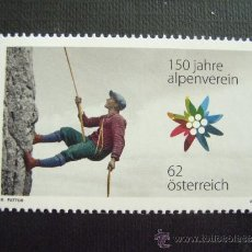 Sellos: AUSTRIA Nº YVERT 2803*** AÑO 2012. 150 ANIVERSARIO ASOCIACION ALPINA AUSTRIACA. Lote 109630740