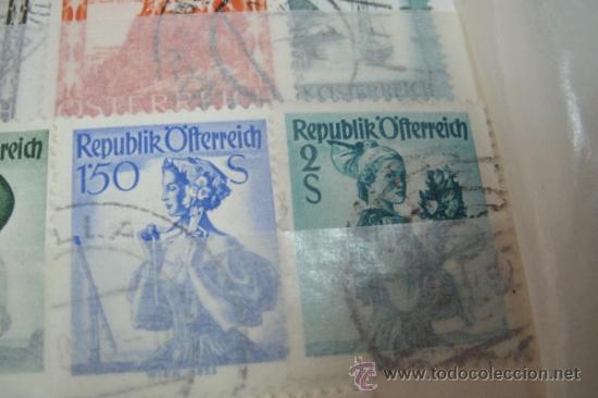 Sellos: COLECCIÓN DE 34 SELLOS ANTIGUOS DE AUSTRIA (OSTERREICH) - Foto 3 - 38915020