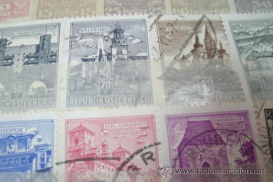 Sellos: COLECCIÓN DE 34 SELLOS ANTIGUOS DE AUSTRIA (OSTERREICH) - Foto 2 - 38915020