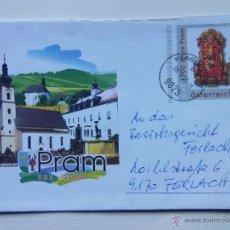 Sellos: AUSTRIA - ÖSTERREICH - 2003 - ORFEBRERÍA - SOBRE PREFRANQUEADO CIUDAD DE PRAM -. Lote 40620383