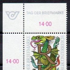 Sellos: AUSTRIA AÑO 1998 YV 2089*** DÍA DEL SELLO. Lote 43588143