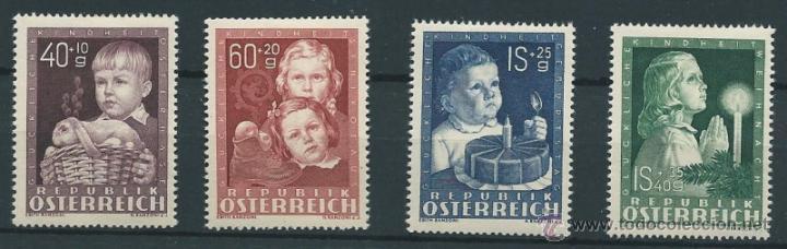 AUSTRIA YVERT Nº 765/68 * (Sellos - Extranjero - Europa - Austria)