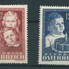 Sellos: AUSTRIA YVERT Nº 765/68 *. Lote 43964994
