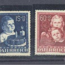 Sellos: AUSTRIA YVERT 765/8 XXX. Lote 45639014
