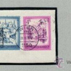 Sellos: 1965 WIPA WIENER INTERNATIONALE POSTWERTZEICHEN AUSSTELLUNG, OBERÖSTERREICH - ALMSEE, 'INNBRÜCKE, FI. Lote 45670064