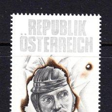 Sellos: AUSTRIA 2065** - AÑO 1997 - 75º ANIVERSARIO DEL NACIMIENTO DEL ACTOR OSKAR WERNER. Lote 228368360