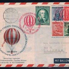 Sellos: 1955 AUSTRIA. TEMA GLOBO. Lote 49305630
