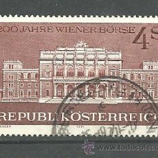 Sellos: YT 1196 AUSTRIA 1971. Lote 151228294