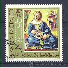 Sellos: YT 1703 AUSTRIA 1987. Lote 115385058