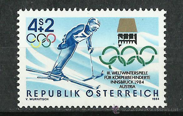 AUSTRIA - 1984 - SCOTT B348** MNH (Sellos - Extranjero - Europa - Austria)