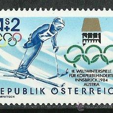 Sellos: AUSTRIA - 1984 - SCOTT B348** MNH. Lote 227064542