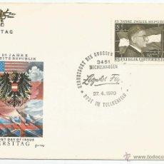 Sellos: 1970 - CONMEMORATIVO - AUSTRIA. Lote 50661931