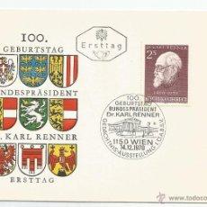 Sellos: 1971 - CONMEMORATIVO - AUSTRIA. Lote 50661937