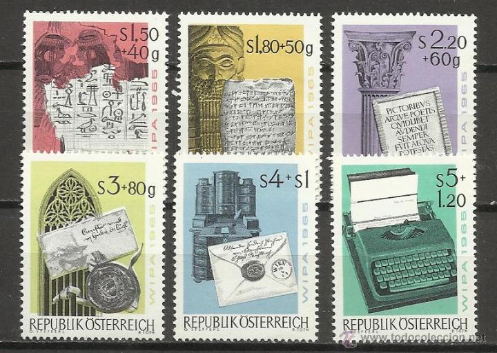 1333A-SELLOS AUSTRIA SERIE COMPLETA AÑO 1868 Nº 1108/13.NUEVOS MNH**. (Sellos - Extranjero - Europa - Austria)