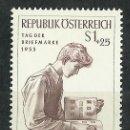 Sellos: AUSTRIA - 1955 - MICHEL 1023** MNH. Lote 166944480
