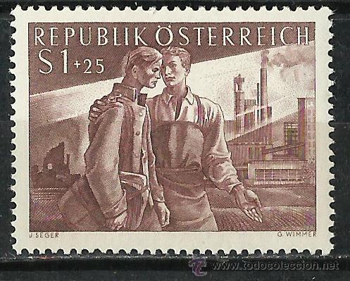 Austria - 1955 - Scott B295** MNH segunda mano