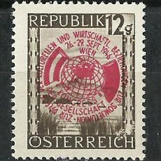 Sellos: AUSTRIA - 1946 - MICHEL 784 // SCOTT 482** MNH. Lote 104286936