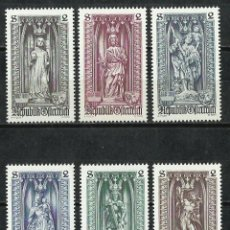 Sellos: AUSTRIA - 1969 - SCOTT 830/835** MNH. Lote 222436405