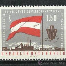 Sellos: AUSTRIA - 1963 - SCOTT 707** MNH. Lote 140054725