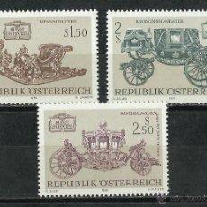 Sellos: AUSTRIA - 1972 - SCOTT 934/936** MNH. Lote 140054834