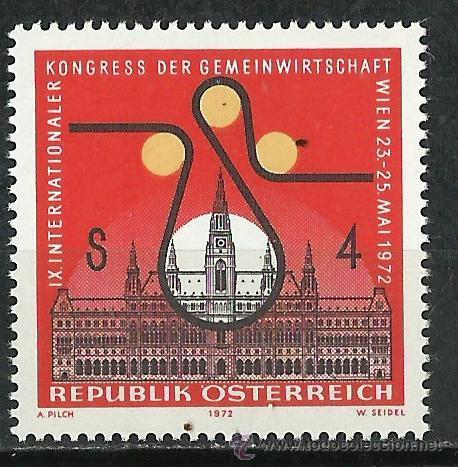 AUSTRIA - 1972 - SCOTT 922** MNH (Sellos - Extranjero - Europa - Austria)
