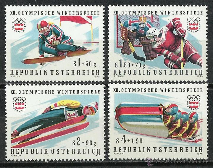 AUSTRIA - 1975 - SCOTT B331/B334** MNH (Sellos - Extranjero - Europa - Austria)