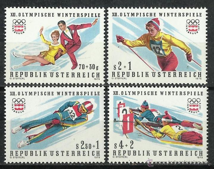 AUSTRIA - 1975 - SCOTT B335/B338** MNH (Sellos - Extranjero - Europa - Austria)