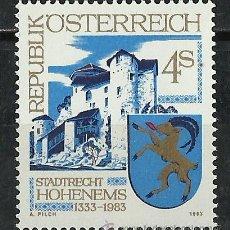 Sellos: AUSTRIA - 1983 - SCOTT 1243** MNH . Lote 140055476