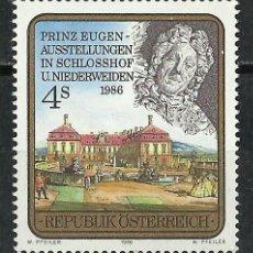 Timbres: AUSTRIA - 1986 - SCOTT 1343** MNH. Lote 222648092
