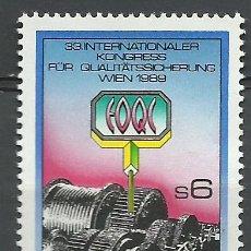 Sellos: AUSTRIA - 1989 - MICHEL 1970** MNH. Lote 222441153