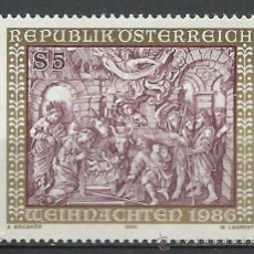 Sellos: AUSTRIA - 1986 - SCOTT 1374** MNH. Lote 222649063