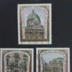 Sellos: SELLOS DE AUSTRIA. YVERT 1913/5. SERIE COMPLETA USADA.. Lote 53024162
