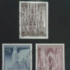Sellos: SELLOS DE AUSTRIA. YVERT 1373/5. SERIE COMPLETA USADA.. Lote 53024180