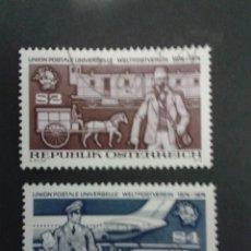 Sellos: SELLOS DE AUSTRIA. YVERT 1295/6. SERIE COMPLETA USADA.. Lote 53024198