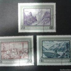 Sellos: SELLOS DE AUSTRIA. YVERT 1218/20. SERIE COMPLETA USADA.. Lote 53024238